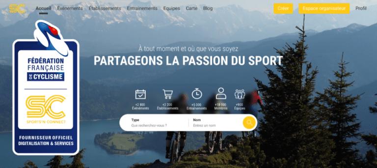 Sports'N Connect et la FFC s'associent pour proposer des services innovants aux différents acteurs de l'écosystème du cyclisme français