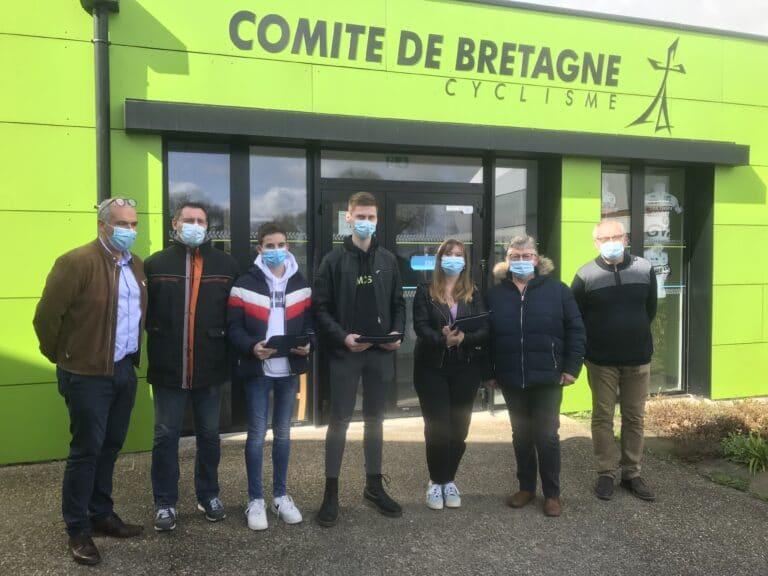 Trois nouveaux jeunes arbitres en Bretagne