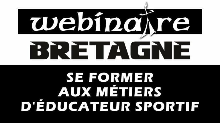 Webinaire : Se former aux métiers d'éducateur sportif