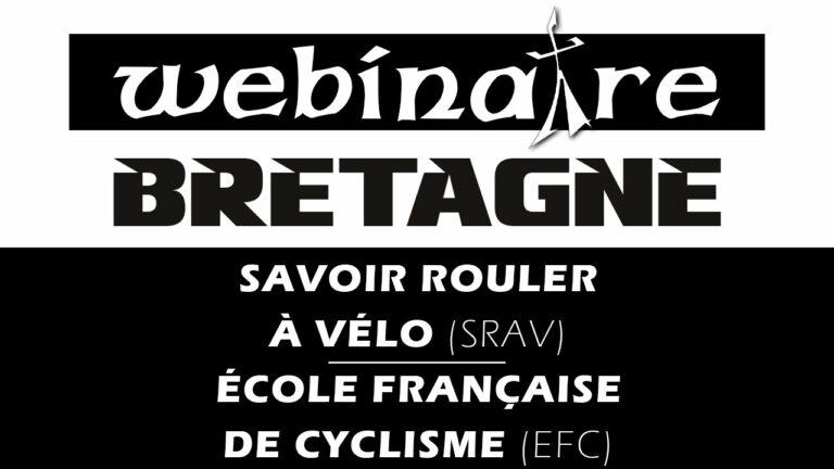 Webinaire : Savoir Rouler à Vélo (SRAV) et Ecoles Françaises de Cyclisme (EFC)