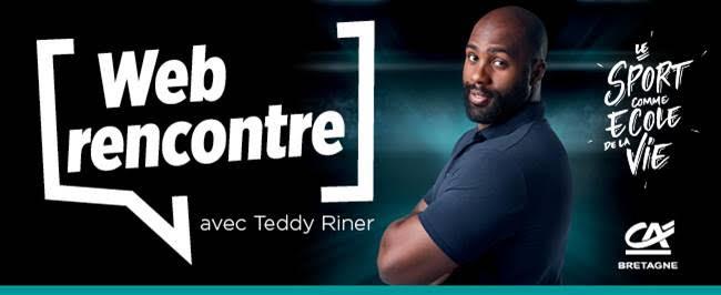 Web Rencontre avec Teddy RINER – Mercredi 21 avril à 16h30