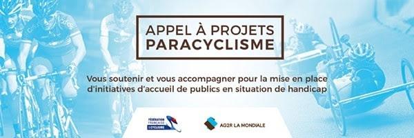 Appel à projets paracyclisme