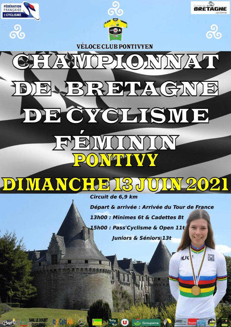 Championnats de Bretagne Femmes dimanche 13 juin