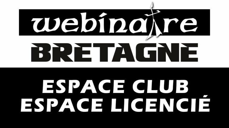Webinaire : Espaces Club et Licencié