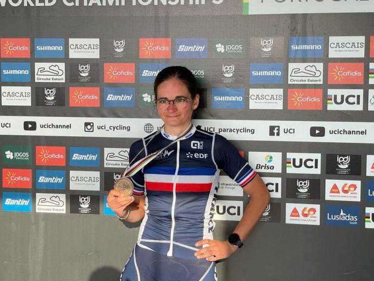 Championnats du Monde de Para-cyclisme : deux médailles pour Katell Alençon !