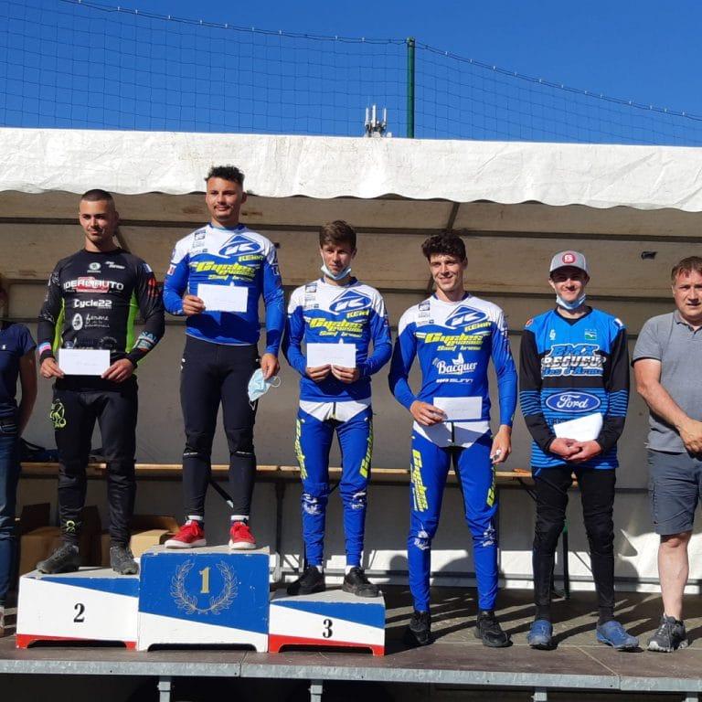 1ère manche de la Coupe de Bretagne BMX à Trégueux : résultats