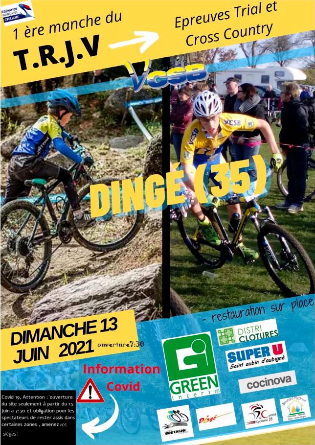 Le TRJV à Dingé le 13 juin 2021