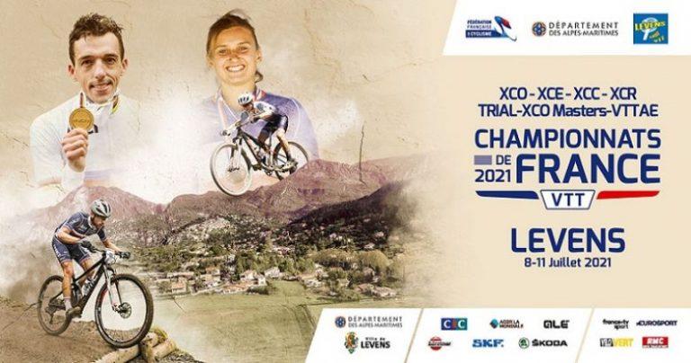 Championnats de France VTT à Levens : les résultats