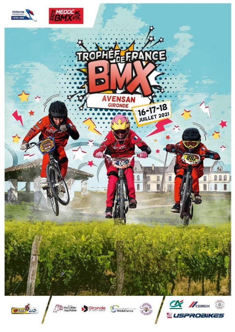 Trophée de France BMX : la Bretagne 3ème au classement des Comités régionaux