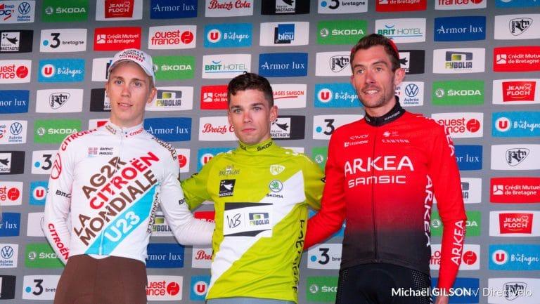 Jean-Louis LE NY (WB-Fybolia Locminé) remporte le Tour de Bretagne.