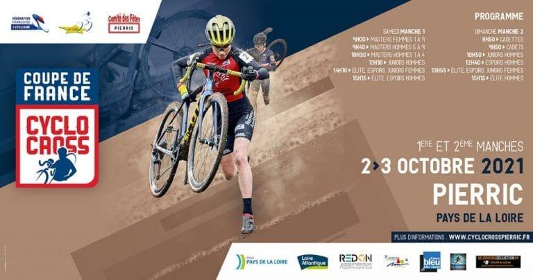 Coupe de France de Cyclo-cross à Pierric : la sélection Cadets