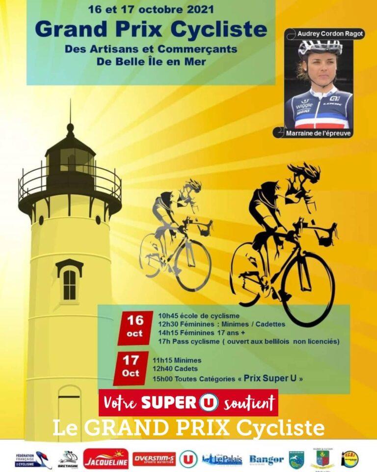 Grand Prix Cycliste de Belle Ile en Mer les 16 et 17 octobre : information pour la traversée